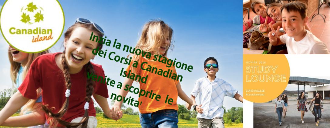 Corsi di inglese Canadian Island Firenze – Genitori, che novità quest'anno!!!
