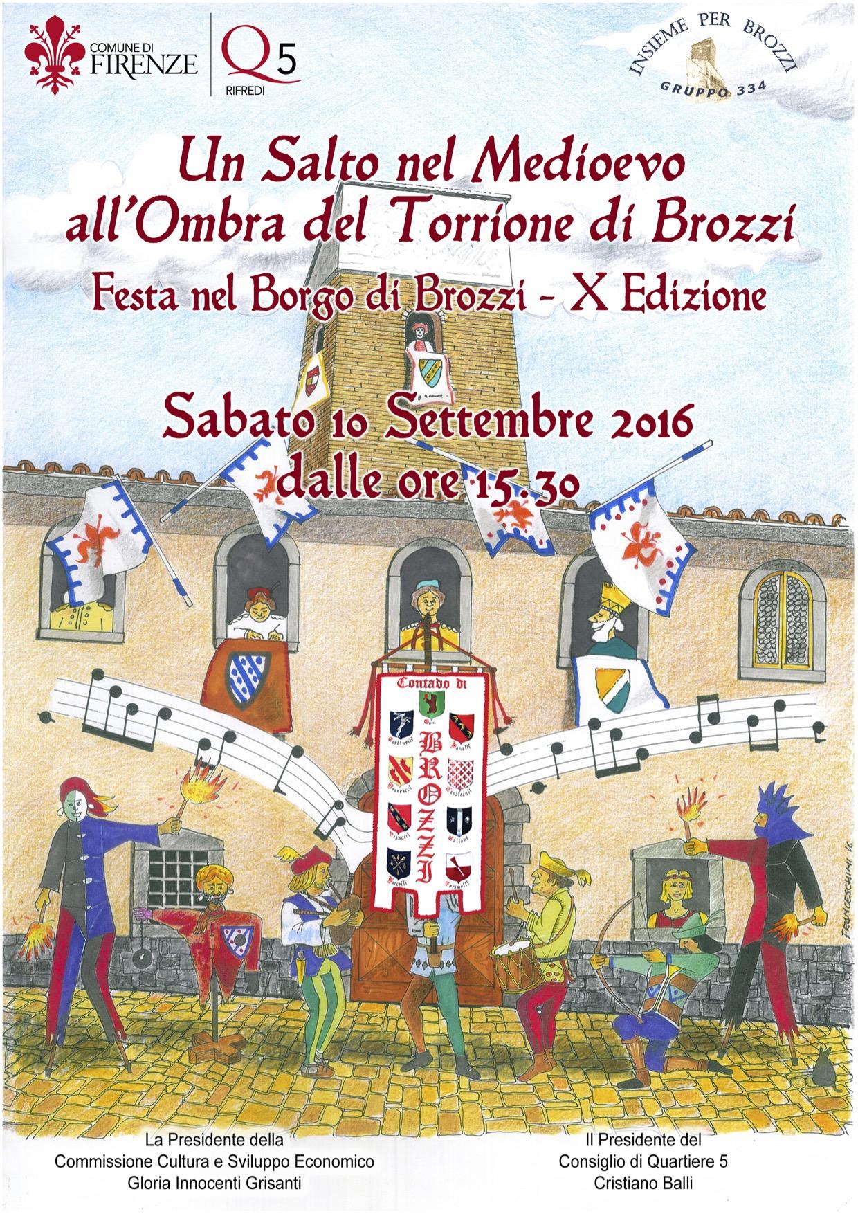 La festa medievale a misura di famiglia è nel Q. 5 di Firenze!!