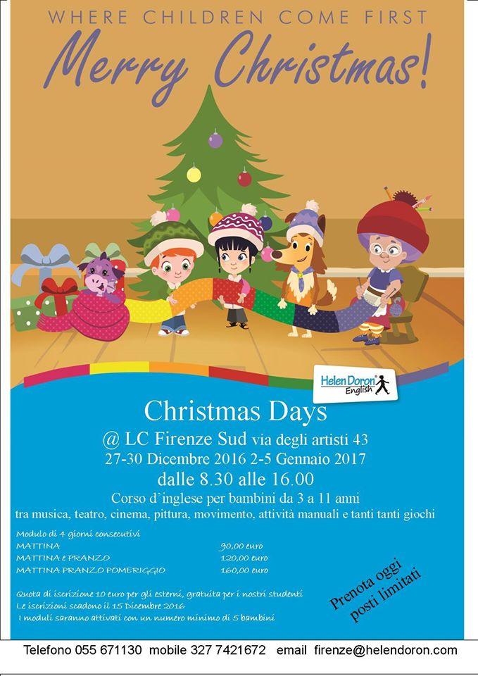 Natale in inglese per bimbi con Helen Doron Firenze