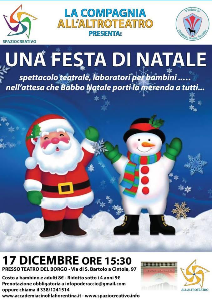 Una festa di Natale a Firenze per tutte le famiglie