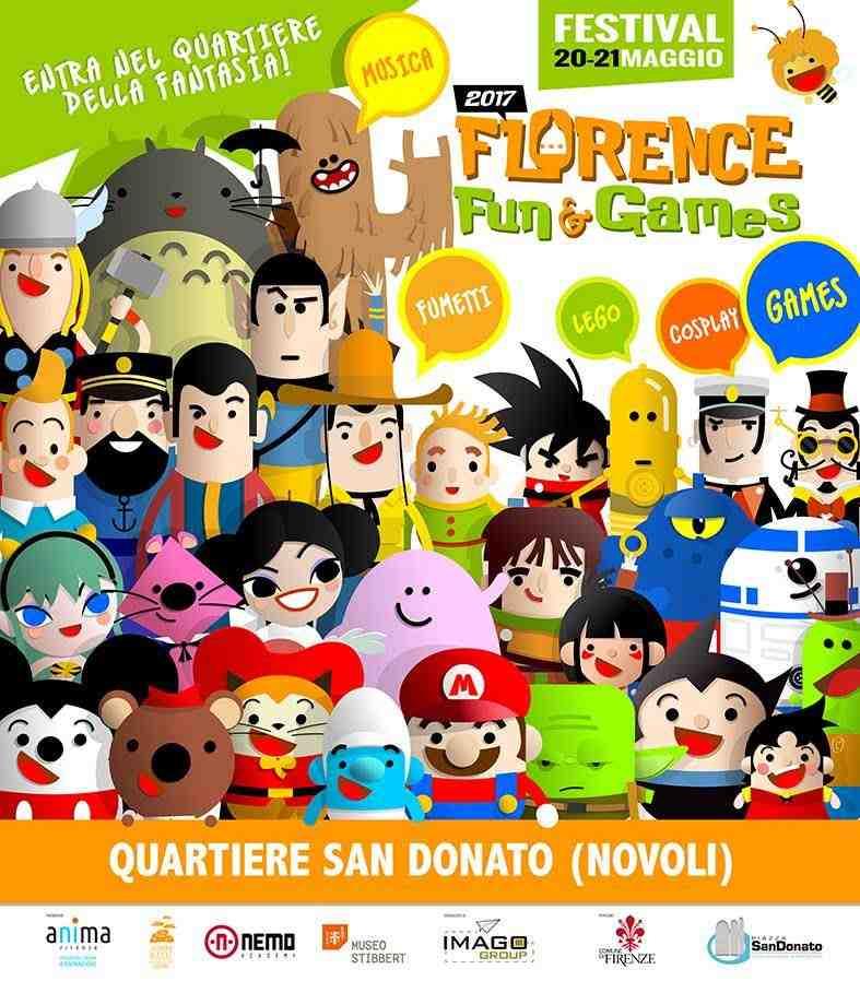 Fun & Games Festival Firenze con i bambini