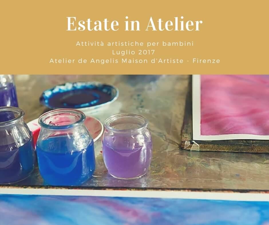 Conosciuto Estate in Atelier attività artistiche per bambini - Firenze  LG56