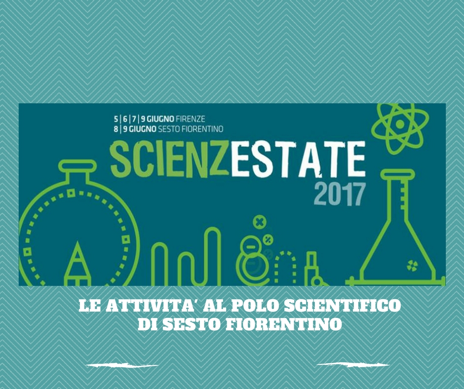 Scienzestate 2017 gli eventi per bambini al Polo scientifico