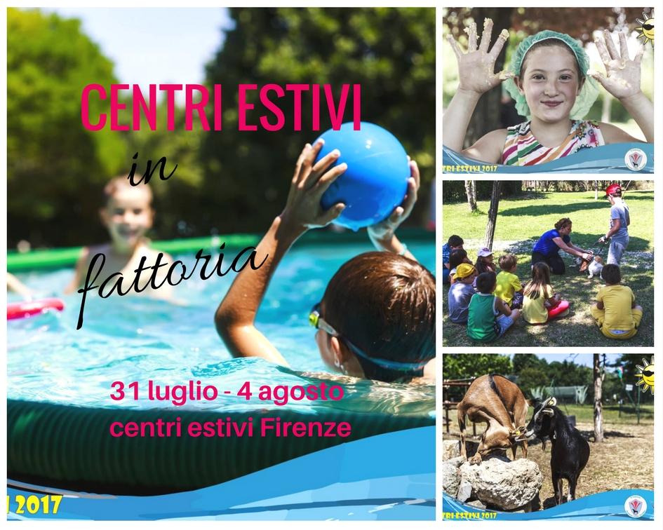 Centri estivi Firenze offerta 31 luglio – 4 agosto 2017