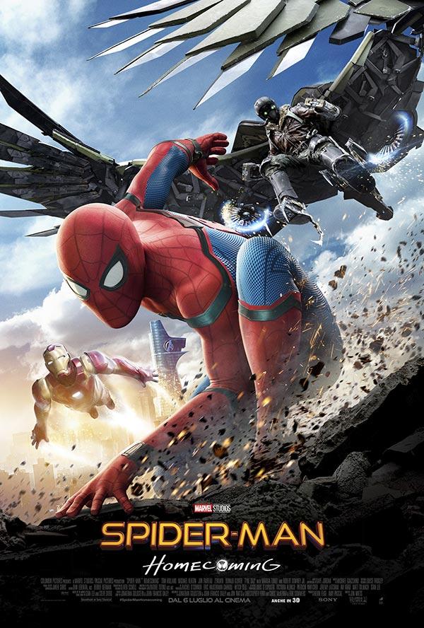Avete visto il nuovo film con Spider-man?