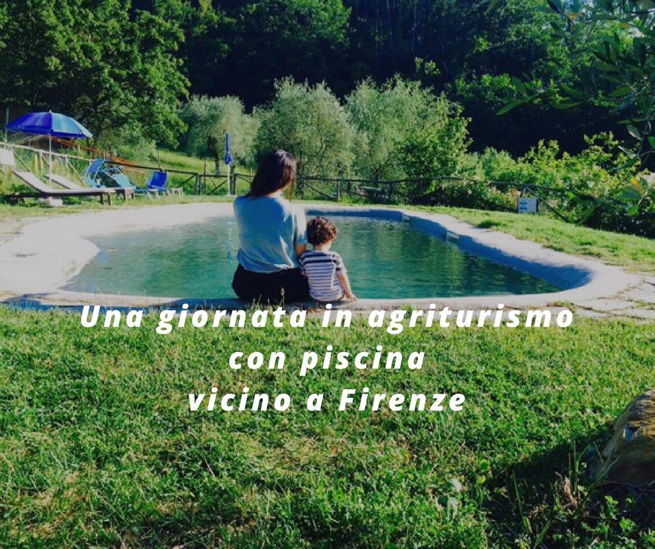 Una giornata in agriturismo con piscina vicino a Firenze
