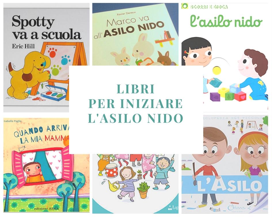Libri per bambini che cominciano il nido