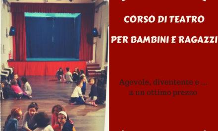 Al teatro del Borgo, corso di teatro per bambini e ragazzi