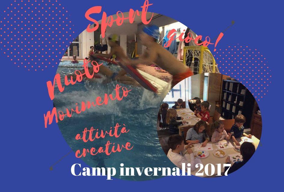 Camp di Natale a tutto sport con Bimbi in Movimento