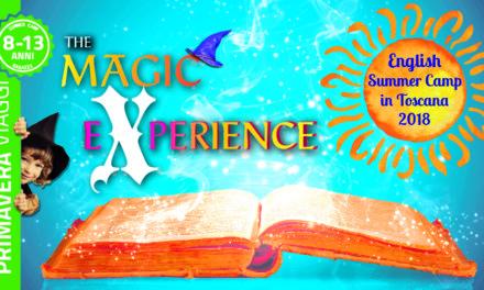 Per l'estate 2018 l'inglese si impara alla scuola di magia del Summer Camp