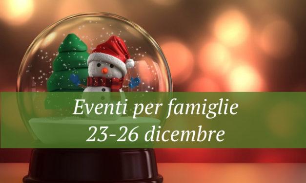 Eventi per famiglie Firenze per le feste di Natale 23-26 dicembre