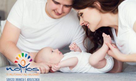 Il massaggio è il primo dono d'amore che fate al vostro bambino