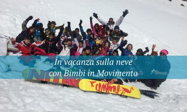 Bimbi in movimento porta i bambini a sciare!!