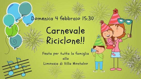 Carnevale Riciclone!! Una festa per tutta la famiglia