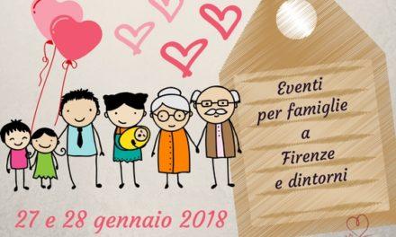 Eventi per famiglie Firenze 27 e 28 gennaio 2018