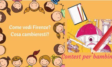 Concorso per bambini dedicato a Firenze