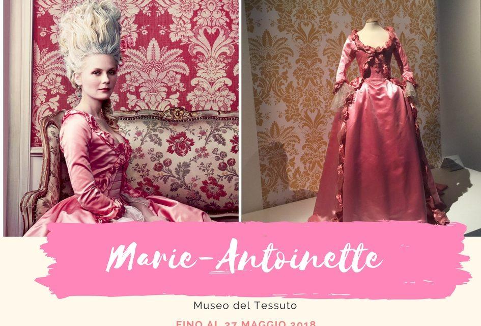 Marie-Antoinette una regina da Oscar in mostra al Museo del Tessuto