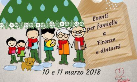 Eventi per famiglie Firenze 10 e 11 marzo 2018