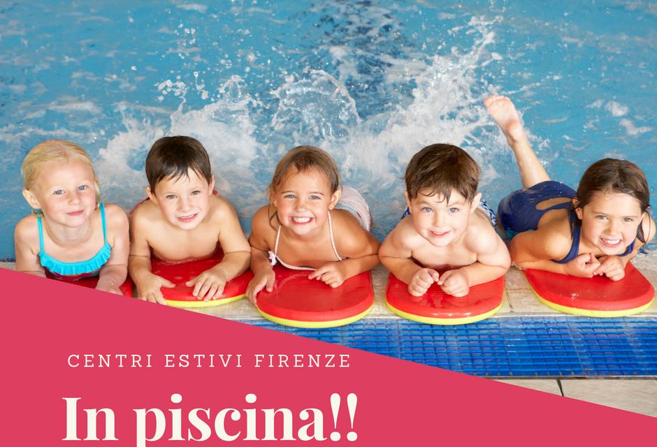 Centri estivi in piscina a Firenze con Bimbi in Movimento