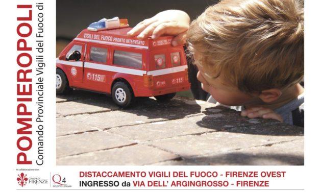 Pompieropoli 2018 a Firenze e i bambini impazziscono di gioia!