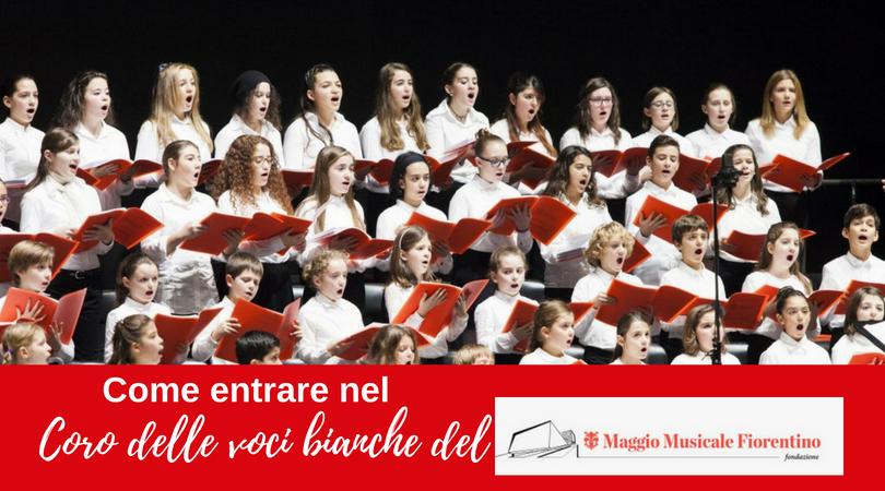 Il coro delle voci bianche del Maggio Musicale Fiorentino