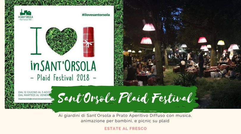Ai giardini di Sant'Orsola picnic diffuso perfetto per famiglie