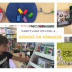 Giochi per bambini da fare in viaggio … Macchina, treno, aereo …