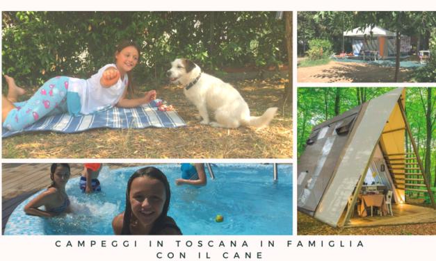 Campeggi in Toscana dove cani e bambini sono benvenuti