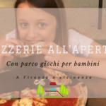 Pizzerie all'aperto a Firenze con spazio giochi per bambini