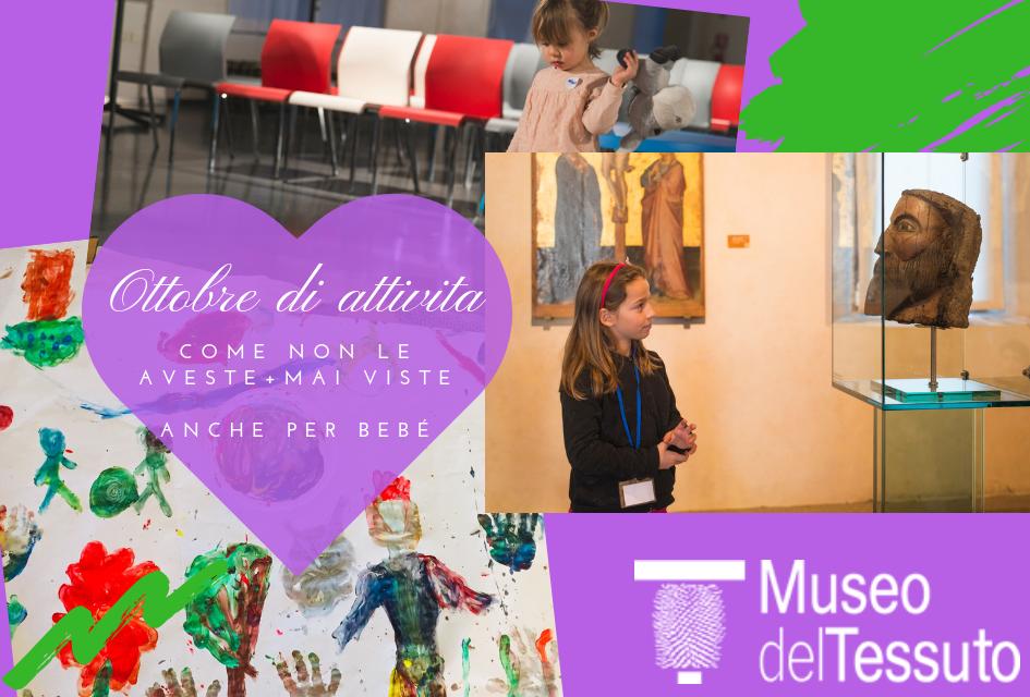 Ottobre al Museo del tessuto di Prato dedicato ai bambini