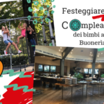 """Festa di compleanno per bambini """"4 stagioni"""" alla Buonerìa di Firenze"""