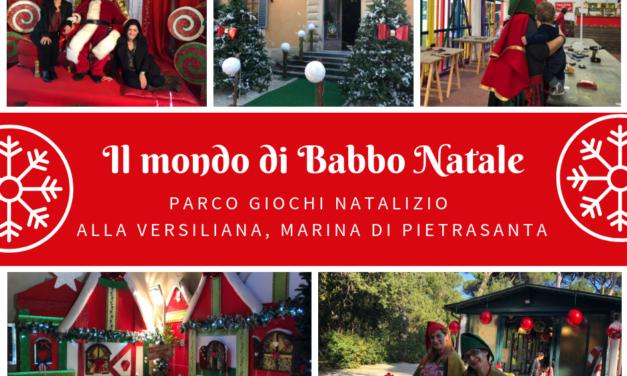 Una casa di Babbo Natale bellissima all'interno del parco della Versiliana