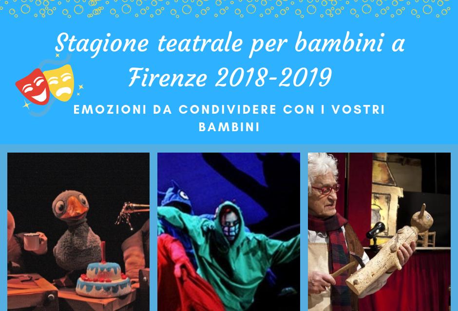 Una lunga stagione teatrale dedicata ai bambini a Firenze e dintorni