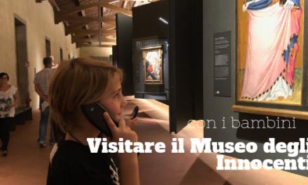 Al Museo degli Innocenti di Firenze con i bambini
