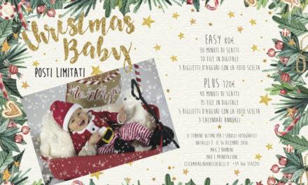Un servizio fotografico per il vostro bambino come regalo di Natale
