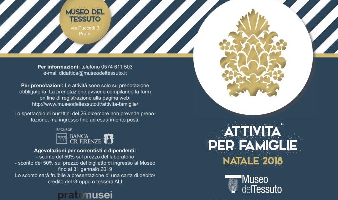 Trambusto natalizio al Museo del Tessuto, imperdibile!!!