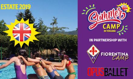 Summer camp inglese in Toscana per l'estate 2019