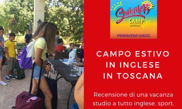 Centro estivo in Toscana recensione di una vacanza a tutto inglese
