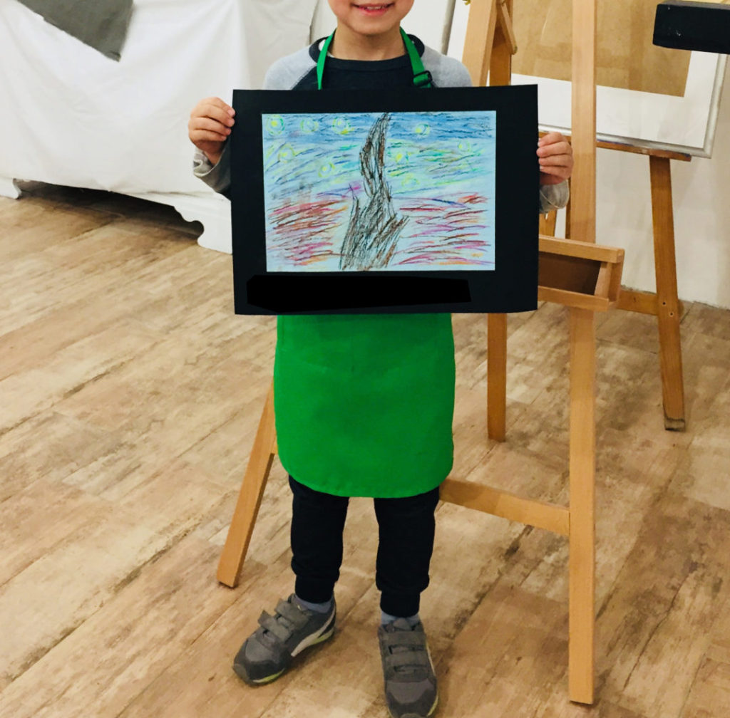 laboratorio di pittura per bambini a Firenze