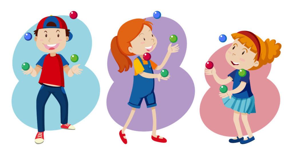 Corso di giocoleria per bambini a Firenze