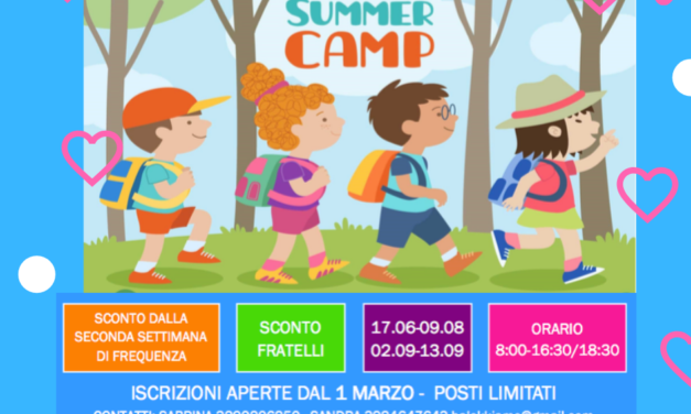 Centri estivi Firenze 2019 Balokkiamo
