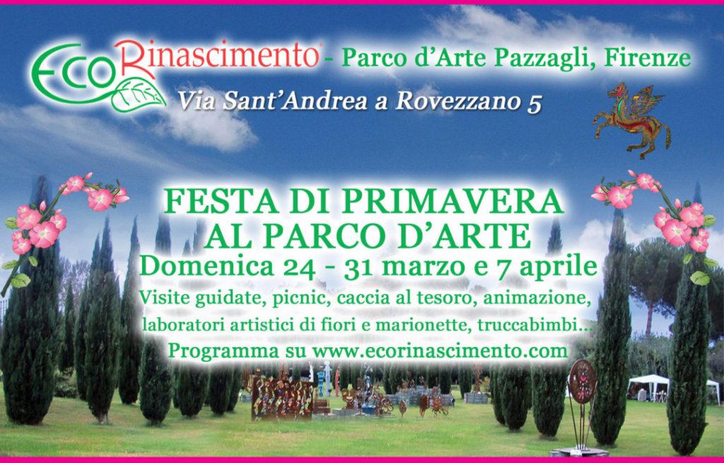 festa di primavera al Parco Pazzagli Firenze