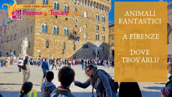Nel centro storico di Firenze a caccia di animali fantastici con i bambini