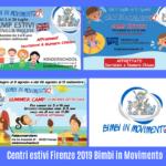 Centri estivi 2019 Firenze Bimbi in Movimento