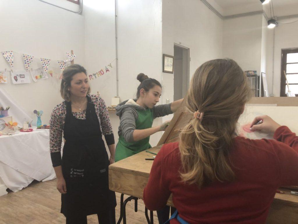insegnante di pittura CreArte Sesto Fiorentino