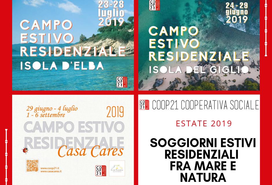 4 campi estivi Toscana mare e natura 2019 firmati Coop 21