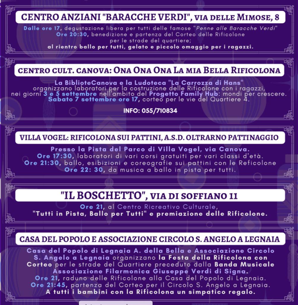 Rificolona 2019 tutti gli appuntamenti a Firenze e dintorni